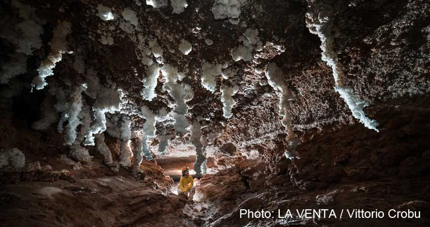 Atacama salt caves 3D