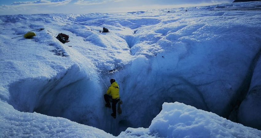 First news from the Vatnajokull Glacier in Iceland